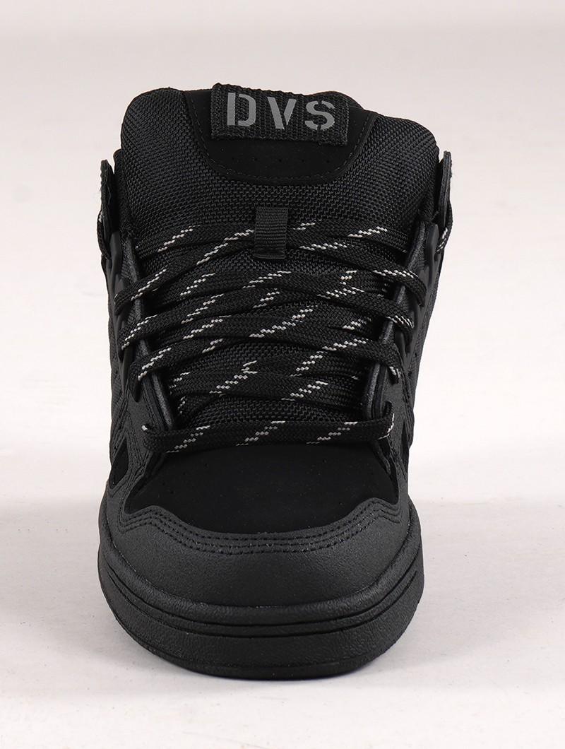 Baskets de skate DVS Celsius, Cuir noir
