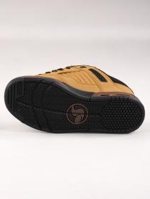 Baskets de skate DVS Enduro Heir, Cuir camel et détails noirs