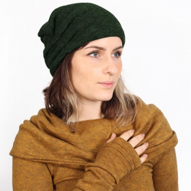 "Bonnet \""Aslan\"", Vert forêt"