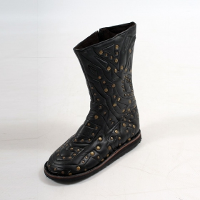 "Bottes Flower Of Life ""Crystal Boots\"", Noir"
