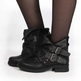 "Bottines ""Aaselia\"", Noir"