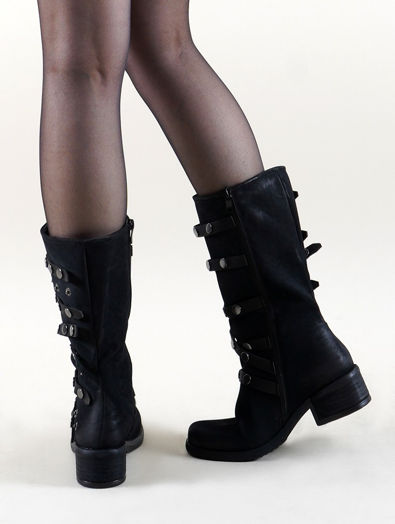"Bottines ""Akilëra\"", Noir"
