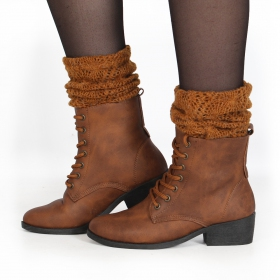 "Bottines ""Amyl\"", Camel"