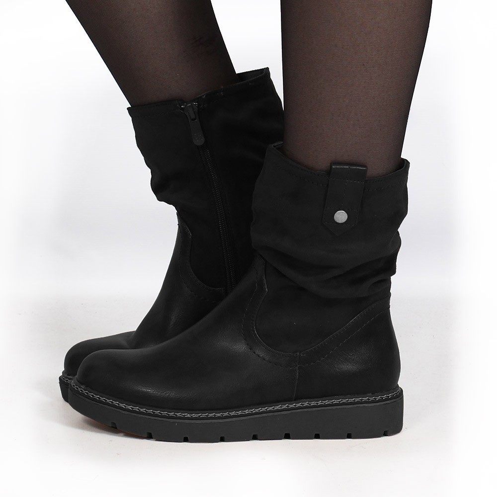 "Bottines ""Anéa\"", Noir"