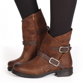 "Bottines ""Jawahar\"", Camel"