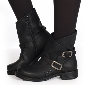 "Bottines ""Jawahar\"", Noir"