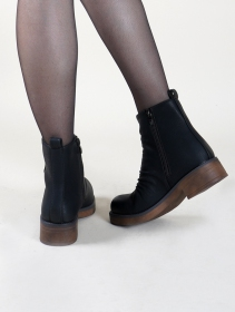 "Bottines ""Keertana\"", Noir"