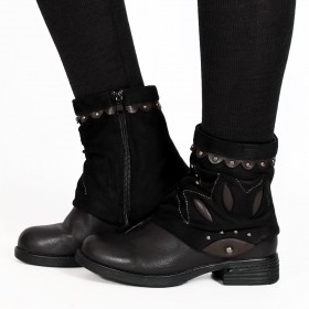 "Bottines ""Pyaara\"", Noir"