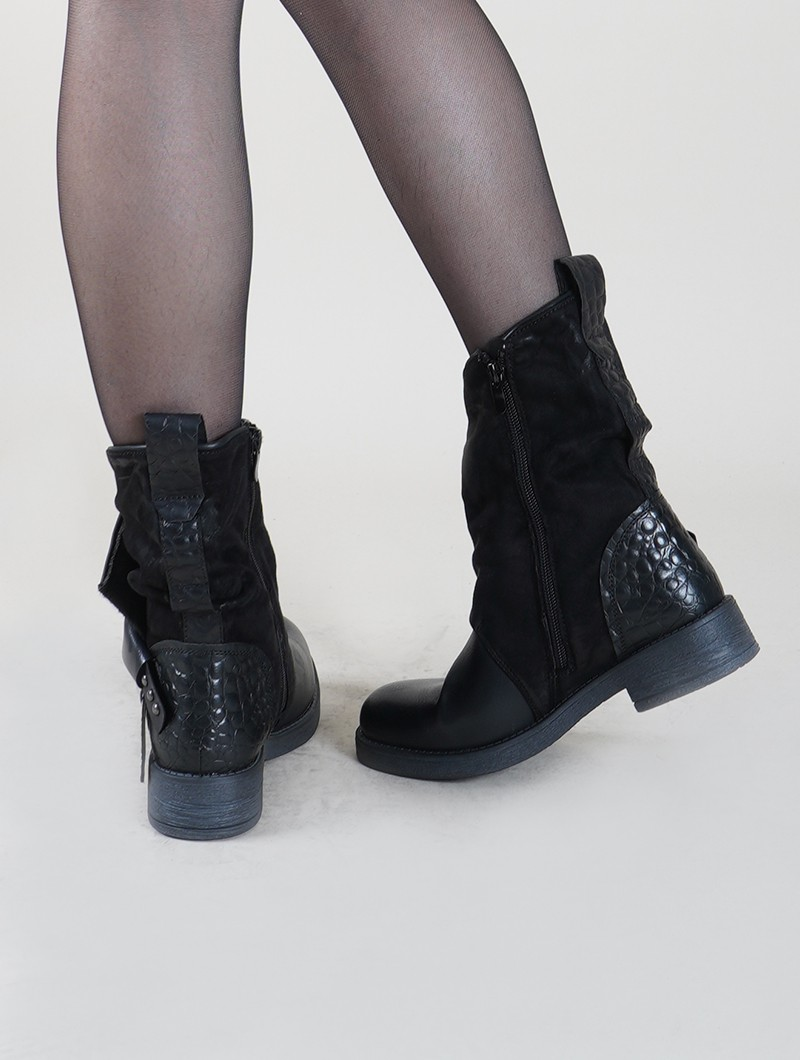 "Bottines ""Saryu\"", Noir"