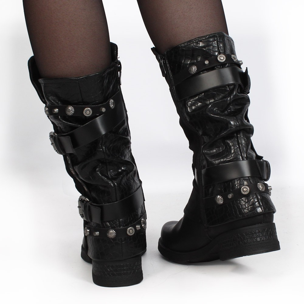 "Bottines ""Silmari\"", Noir"
