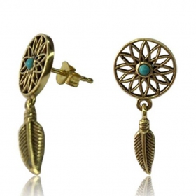 Boucles d\\\'oreille \\\'\\\'Dreamcatcher\\\'\\\'