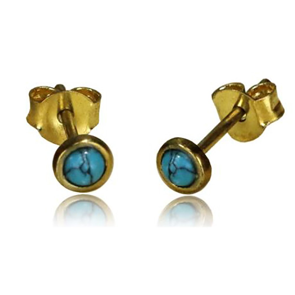 Boucles d\\\'oreille \\\'\\\'Saral Turquoise\\\'\\\'