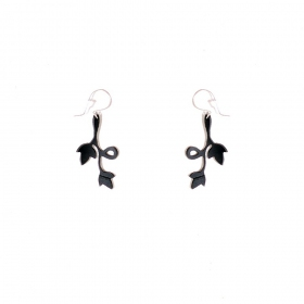 "Boucles d\'oreille chambre à air ""Evelyn\"""
