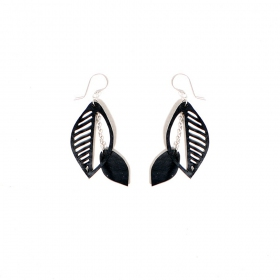 "Boucles d\'oreille chambre à air ""Sweet Cherry\"""
