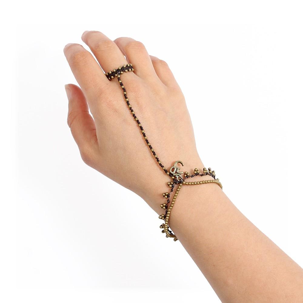 """Bracelet bague \""""Ohm Yindee\"""""""