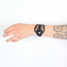 """Bracelet chambre à air \""""Peacock\"""""""