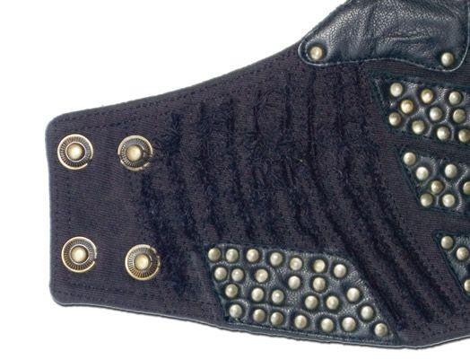 Bracelet en cuir 5 psylo, kaki