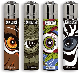 Briquet Clipper Animals\' eye