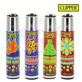 Briquet Clipper Hippie power
