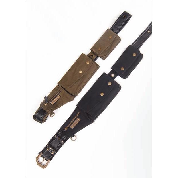 "Ceinture poche \\\""travel belt\\\"", noir"