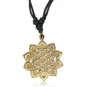 "Collier ""Sunflower\"""