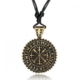 "Collier ""Vegvisir Guardian\"""