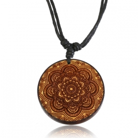 "Collier ""Wooden Kaylo\"""