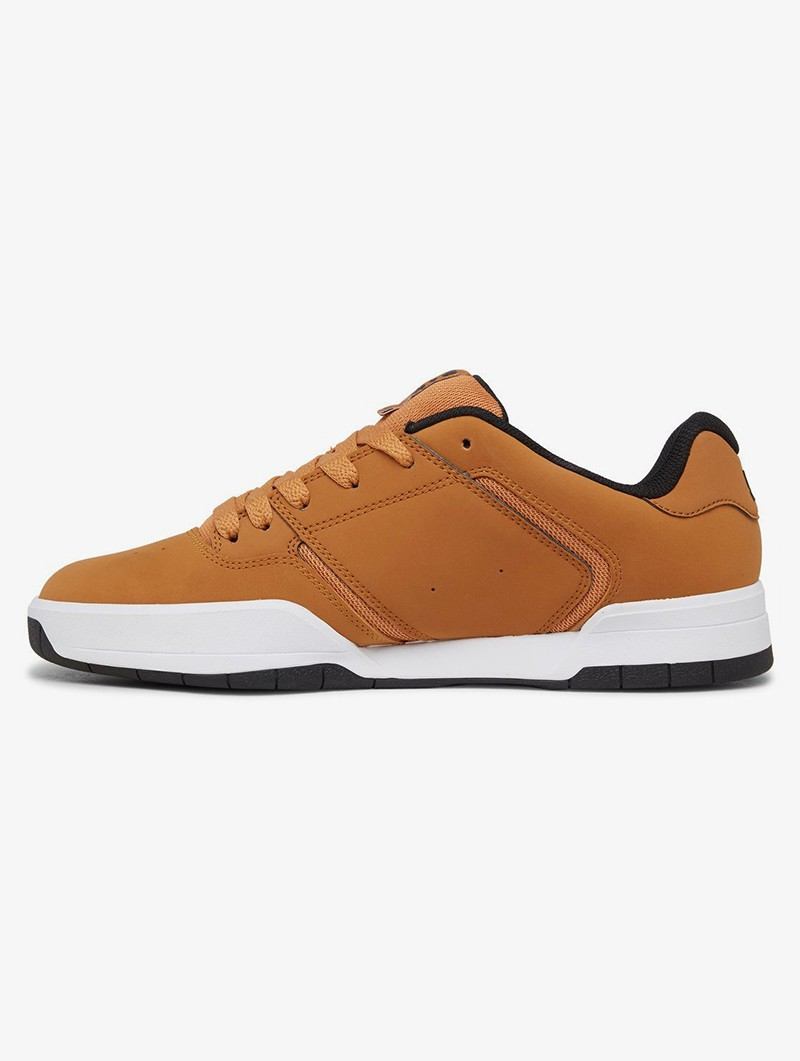 DC Shoes Central, Cuir camel