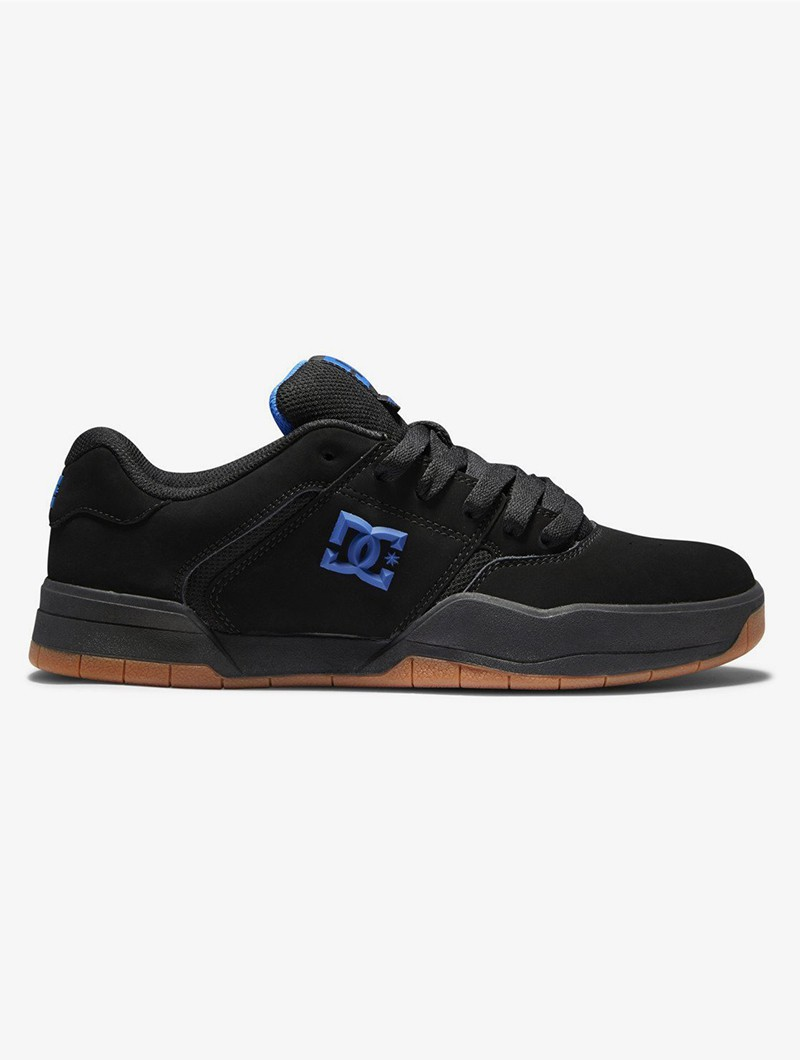 DC Shoes Central, Cuir nubuck noir