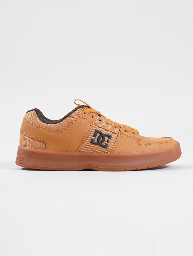 DC Shoes Lynx Zero, Cuir nubuck camel