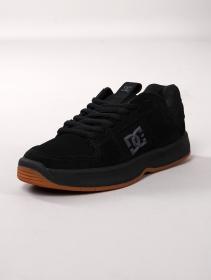 DC Shoes Lynx Zero, Cuir nubuck noir