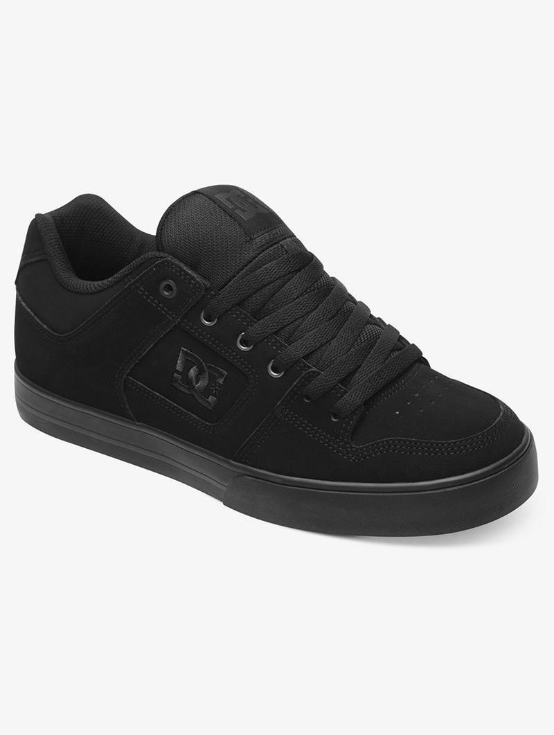 DC Shoes Pure, Cuir noir