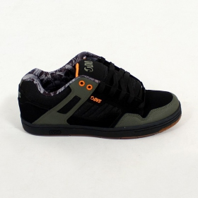 DVS Enduro 125, Cuir et nubuck kaki et noir