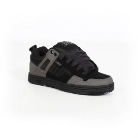 DVS Enduro 125, Cuir noir détails gris et camo
