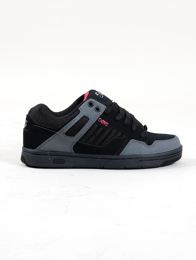 DVS Enduro 125, Cuir noir et détails gris