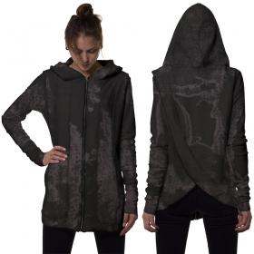 "Gilet \""Kiran\"", Camouflage noir"