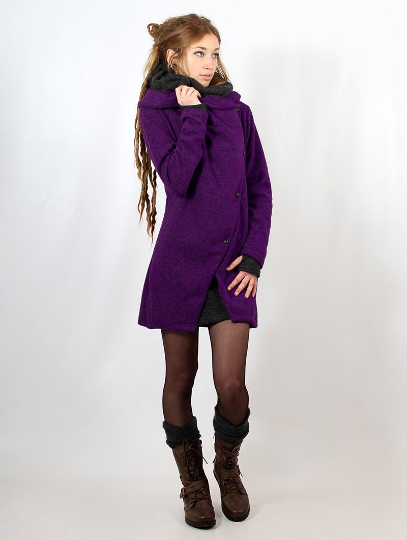"""Gilet \""""Panimya\"""", Violet"""