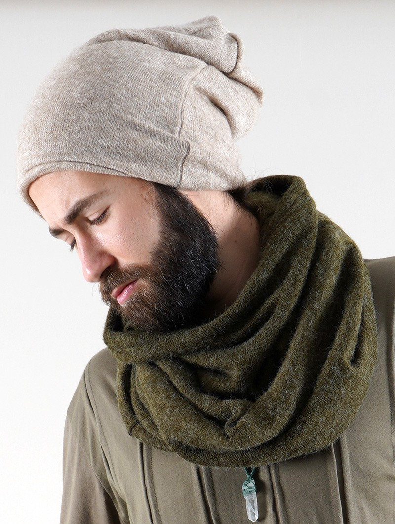 "Gros bonnet dread \""Sükk\"", Beige"
