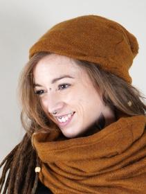 """Gros bonnet dread \""""Sükk\"""", Rouille"""