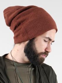 """Gros bonnet dread \""""Sükk\"""", Terre de sienne"""