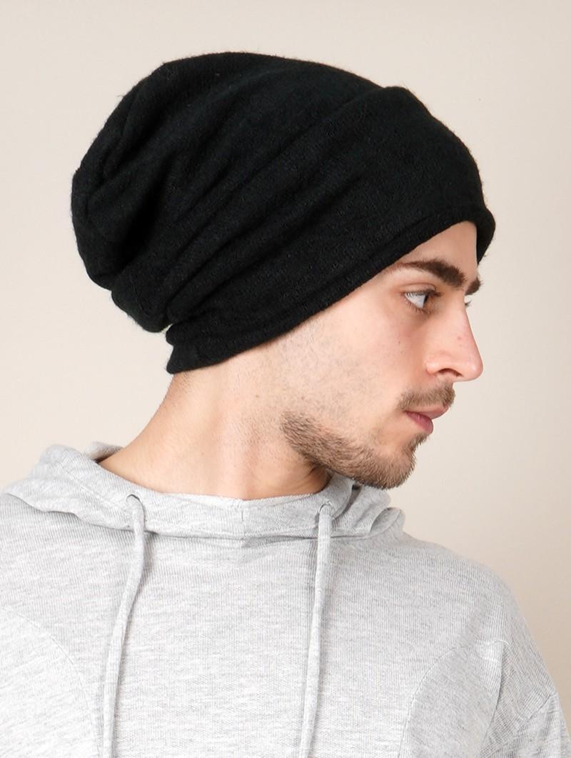 """Gros bonnet dread unisexe \""""Sükk\"""", Noir"""