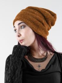 "Gros bonnet dread unisexe \""Sükk\"", Rouille"