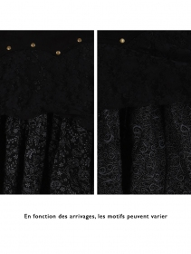 "Jupe ""Chimey"", Noir noir"