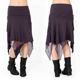 "Jupe ""Gitane patch\"", Violet"