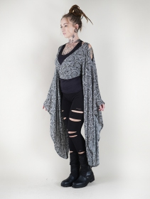 "Kimono \""Aura\"", Noir"