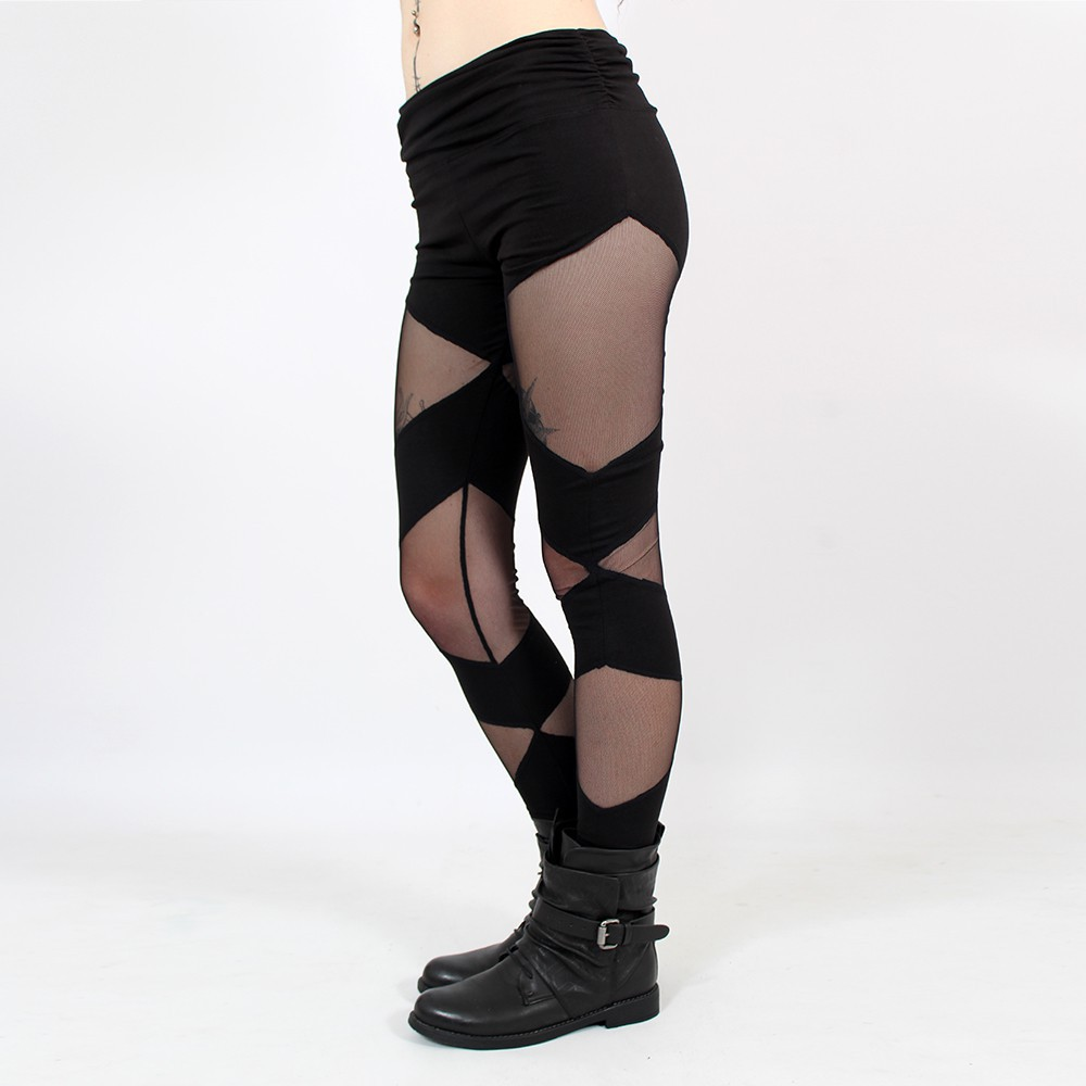 "Legging \""Hot Pant\"", Noir"