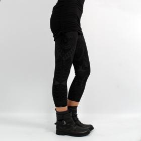 """Legging \""""Rinji Africa\"""", Noir"""