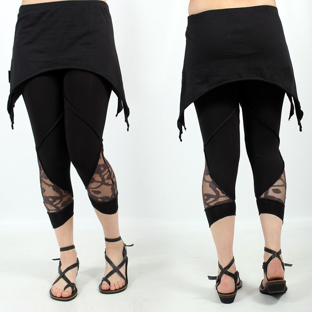 """Legging I See \""""Keiji\"""", Noir"""