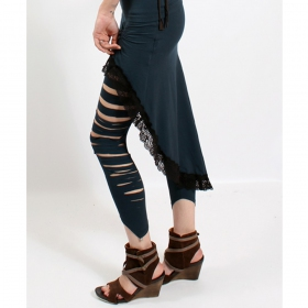 """Legging Liloo \""""Yaqui\"""", Bleu Pétrol"""