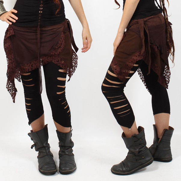 "Legging liloo \\\""yaqui\\\"", noir"